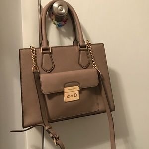 Kors tote with gold chain strap